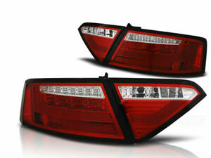 AUDI A5 2007 2008 2009 2010 2011 LDAUE2 COUPE TAIL REAR LIGHTS LED