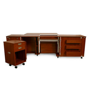Sewing Cabinet by Kangaroo fits BROTHER Quattro 6000D