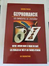 LIVRE GLYPHOMANCIE LES EMPREINTES DE L INVISIBLE  VOTRE AVENIR DANS MARC DE CAFE
