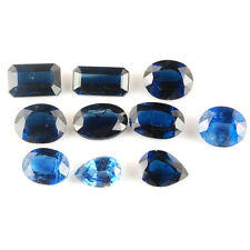 27.70 Cts/10 Pcs Untreated Natural Kyanite Finest Rich Blue Gemstones Wholesale
