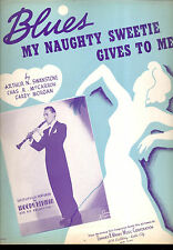 """WOODY HERMAN Sheet Music """"Blues My Naughty Sweetie Gives To Me"""" 1932"""