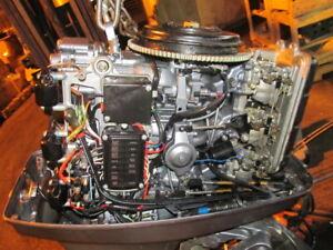 1996 C75HP C85TLRU Yamaha Outboard 2 stroke Complete Powerhead Good Compression
