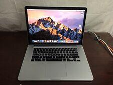 """MacBook Pro 15"""" Retina (Late 2013) 2.6GHz i7 16gb 512GB PCIe MacOS Sierra"""