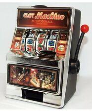 Casino Miniature Slot Machine Money Saving Bank Toy Arcade Christmas family xmas