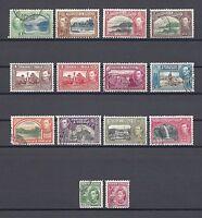 TRINIDAD & TOBAGO 1938-44 SG 246/56 USED Cat £60