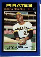 1971 Topps Set Break #630 Roberto Clemente NM-MT OR BETTER *GMCARDS*