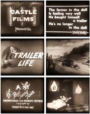 Regular 8mm - Cartoon - Farmer Al Falfa / Trailer Life - 200ft