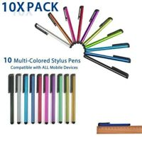 10 x Universal Touch Screen Stylus Pens for All Mobile Phone Tablet For Iphone