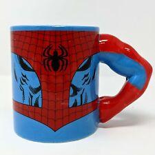 More details for marvel comics spider-man mug with 3d arm 330ml - new - damaged box