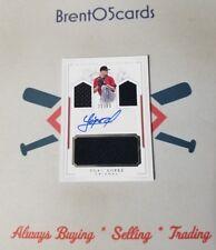 2016 Panini National Treasures Yoan Lopez Rookie RC Autograph Auto Jersey /99 SP