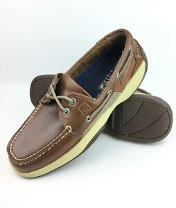 Sperry Top-Sider   Men's Intrepid 2- Eye Leather Boat Shoes 0276308 sz: US 9 M