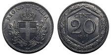 20 centesimi 1918 Esagono SPL