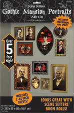 Halloween gothique manoir portrait gallery décoration scène setters photo prop