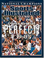 UCONN WOMANS BASKETBALL PERFECT 39-0 SPORTS ILLUSTRATED NO LABEL APRIL 16 2009