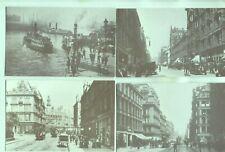 8 reproduction photo postcards Glasgow Scotland Annan Photograph