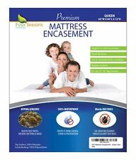 Zippered Mattress Protector - Bed Bug Waterproof Allergy Relief Encasement