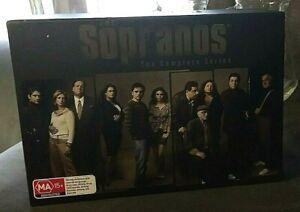 The Sopranos Complete Series Collection 28 DVD Box Set Season 1-6 Region 4