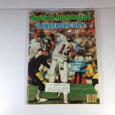 "Sports Illustrated Magazine January 14, 1985 Dan Marino ""Dangerous Dan"""