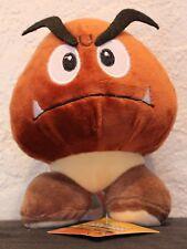 "New Super Mario Bros Goomba 5"" Plush Doll Stuffed Mushroom Figure Nintendo Toy"