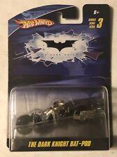 THE DARK KNIGHT BAT-POD - Hot Wheels 1:50 (New) 2009 DC Comics 💥💥