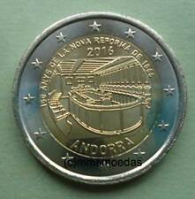Andorra 2 Euro Gedenkmünze 2016 Reform Euromünze commemorative coin