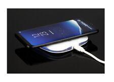 """Chargeur à Induction sans fil  """"Qi"""" 1A avec Câble USB (Blanc)"""