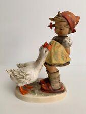 """Goebel M.I. Hummel Figurine Large """"Goose Girl"""" 7.5"""" 47/Ii Tmk-5"""