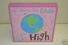 Wow Twinkle Little Star Girl's Room Canvas Art Up Above The World So High Target