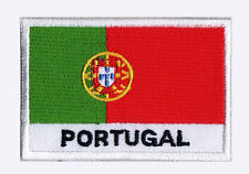 Patch écusson patche drapeau PORTUGAL 70 x 45 mm Pays Monde brodé à coudre