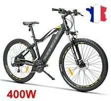VTT vélo électrique 35 km/h Mode SCOOTER 400W 48V  batterie 13 AH 120 km e-bike