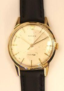 Rolex 9ct Gold Precision Manual Wind Wrist Watch - £1950