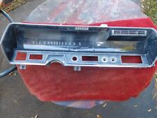 1967 67 Cadillac Coupe Deville 62 Dash Instrument Cluster Gauges W Quartz Clock