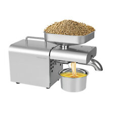 Oil Press Machine Electric Auto Hot Oil Press Extractor Nut Olive Oil Expeller