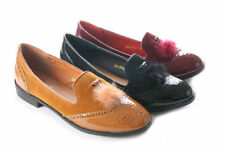 Unbranded Synthetic Casual Brogues Flats for Women