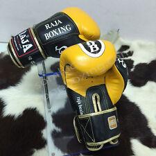 New Raja Boxing MuayThai Premium Gloves Original 8 10 12 14 16 Oz.