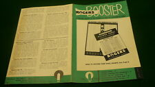 Rogers booster electronic tube pamphlet 1954 technician info Majestic E286
