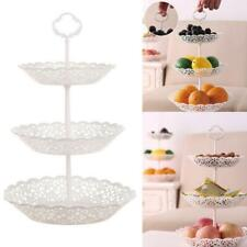 New 3-Tier Cupcake Stand Cake Dessert Wedding Party Display Tower Plate Round