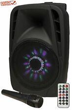 ? Mobile Beschallungsanlage HOLLYWOOD SD/USB Bluetooth Soundbox 300W NEU&OVP