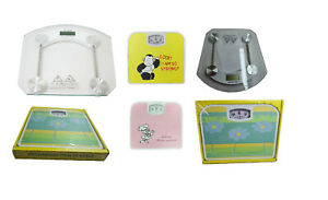 Electronic or Mechanical Bathroom Scales Body Measure Weight 180kg Digital