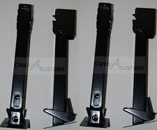 4 Pack LONG SWING DOWN 16 - 22.5 Stabilizer flip RV Jack Trailer Levelers cargo