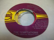 Soul Unplayed NM! 45 THE TEMPTATIONS Glasshouse on Gordy