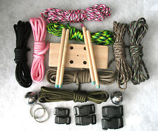 550 Paracord Multi Maker Plus Kit for Survival Bracelets & Monkey Fists~USA Made
