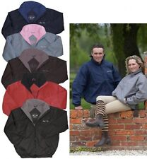 Mark Todd Unisex Showerproof Breathable Fleece Lined Blouson Smart Jacket Equine