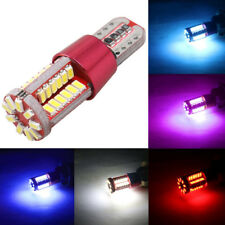 2x Amber Canbus Error Free T10 168 57SMD Led Bulb Parking Turn Clearance Light