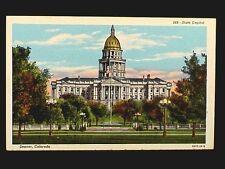 CO - DENVER - NO. 168  STATE CAPITOL BUILDING 1930-1944