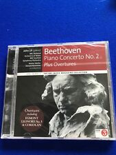 neuf emballé Beethoven Piano Concerto Numéro 2 Plus Ouvertures CD