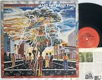 Earth Wind & Fire LAST DAYS AND TIME lp 1972 Columbia KC 31702 gatefold STEREO
