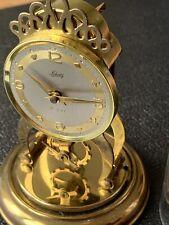 Vintage AUG SCHATZ & SOHNE 59 Germany Domed Anniversary Clock