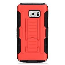 Silicone/Gel/Rubber Fitted Cases with Kickstand for Samsung Galaxy S7 edge