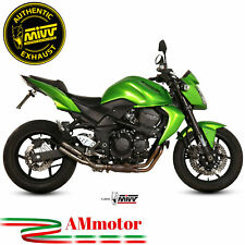 Mivv Kawasaki Z 750 07 - 2014 Terminale Di Scarico Moto Marmitta Double Gun